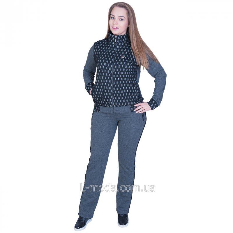 Спортивный костюм женский трикотаж 50, арт. s5879