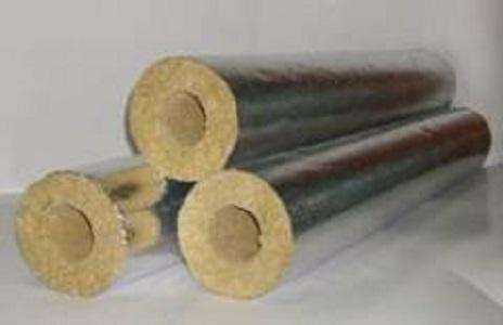 Минераловатные цилиндры с фольгой