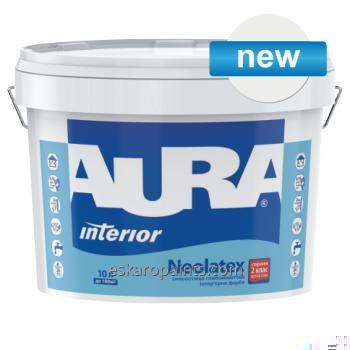 עמידות בלאי עמוק מאט פנים לצייר 10L Aura Neolatex