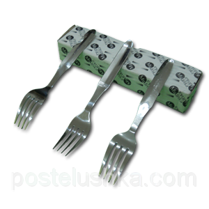Buy Dessert forks stainless steel of 12 pieces of Vikas India
