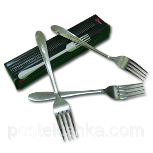 Buy Fork table stainless steel of 12 pieces of Chile Plane India