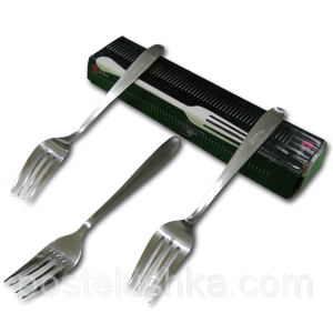 Buy Dessert forks stainless steel of 12 pieces of Chile India