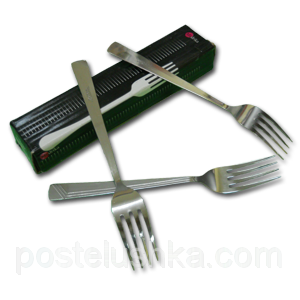Buy Fork table stainless steel of 12 pieces of Euro India
