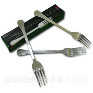 Buy Fork table stainless steel of 12 pieces of Harmony India