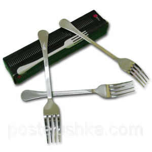 Buy Fork table stainless steel of 12 pieces of Lehre India