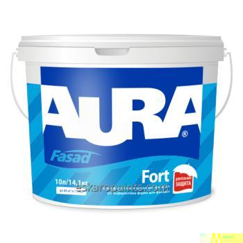 Weatherproof color for facades of Aura Fasad Fort 10 of l