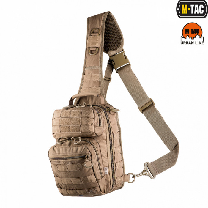 Buy Bag shoulder for the hidden carrying weapon of M-Tac a coyote