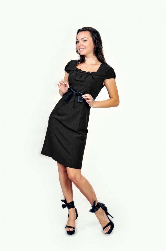 """Платье, """"4п"""" черное"""