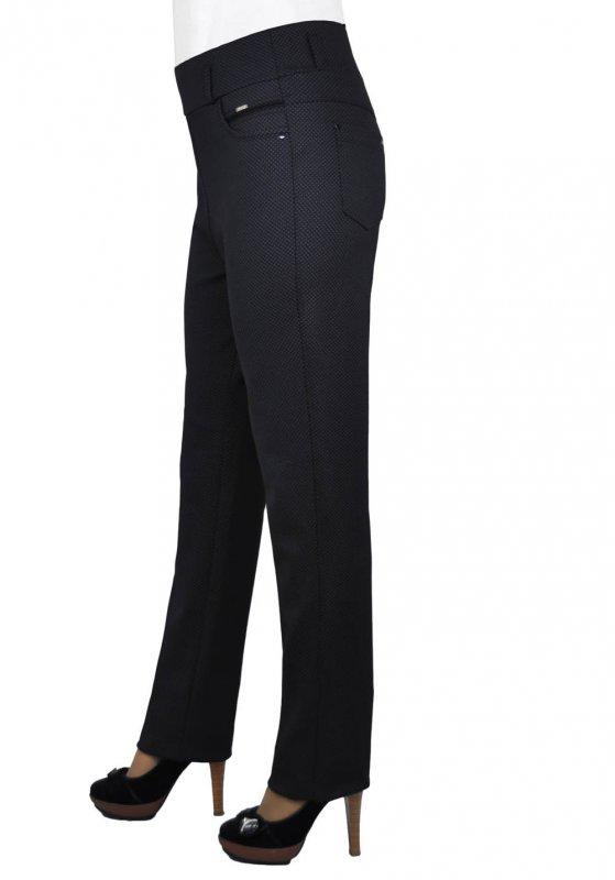 Женские брюки классические 410, 50-56 Трикотаж + Начес