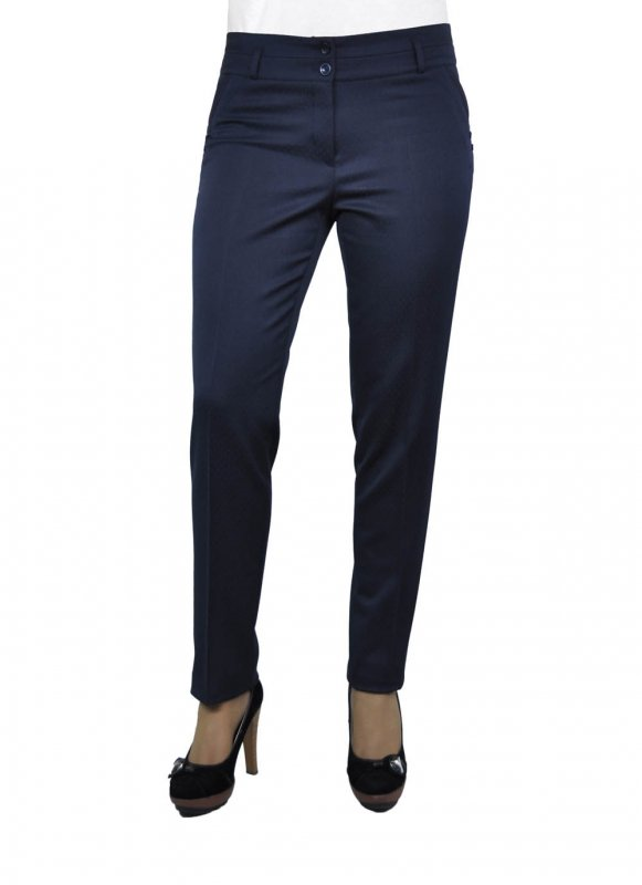 Женские брюки молодежные (411 модель) 44-54 Габардин в точку