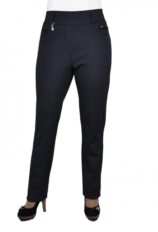 Женские брюки классические 410, 46-56 Трикотаж в точку