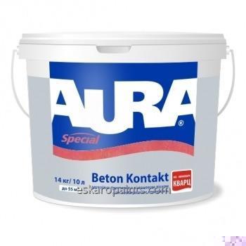 Adhesive primer of Aura Beton Kontakt 14 of kg