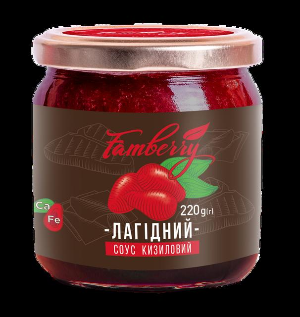 Терпко-кислый соус из кизила  Нежный 220 г