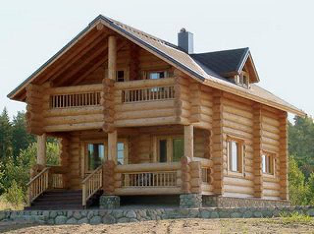 """Дома деревянные дачные, """"Хата-сруб"""""""