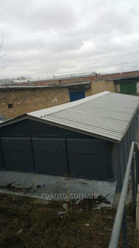 Ремонт и восстановление крыш гаражей.