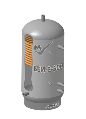 Буферная емкость  БЕМ-2-500 из углеродистой стали