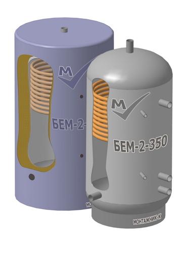 Купить Буферная емкость БЕМ-2-350 из углеродистой стали