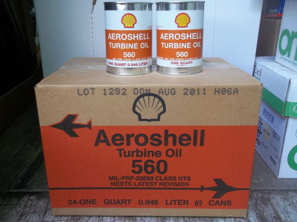 Авиационное масло AeroShell Turbine 560