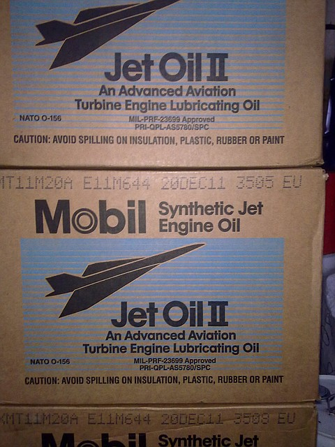 Авиационное масло Mobil jet Oil 2