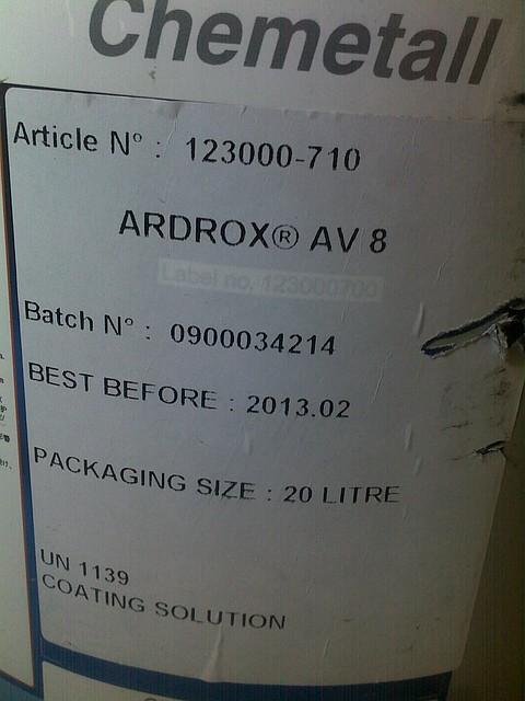 Мастика антикоррозионная Ardrox AV 100D