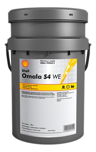 Масло Shell Omala S4 GX 150