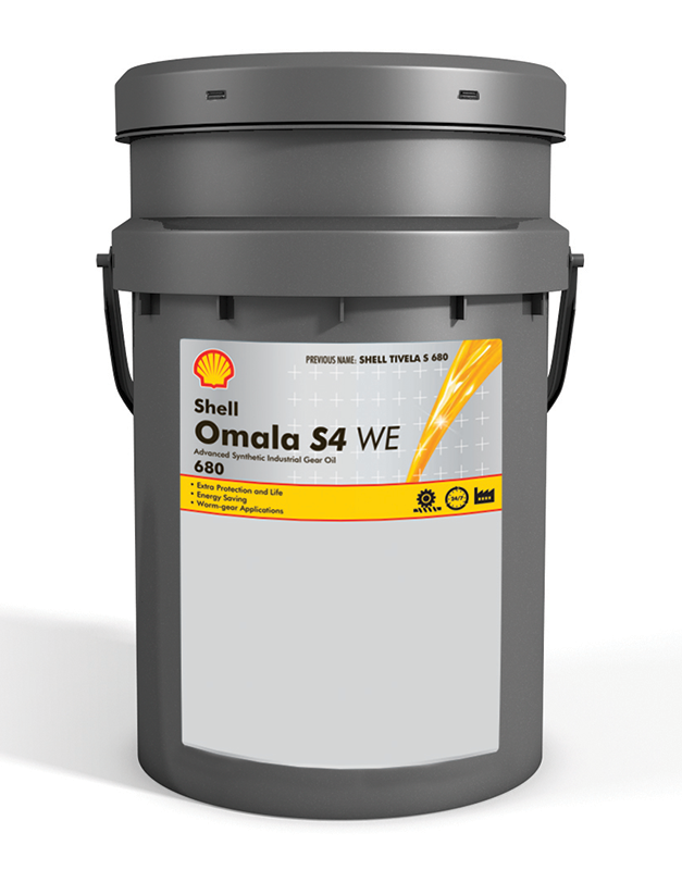 Масло Shell Omala S4 WE 680
