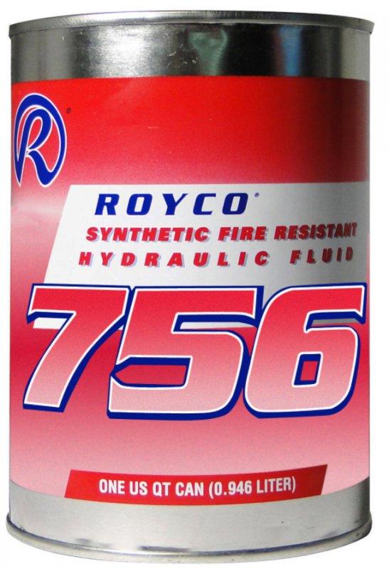 Гидравлическая жидкость Royco 756