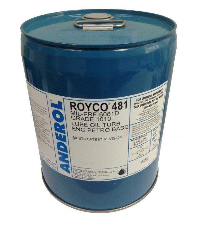 Турбинное масло Royco 481