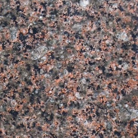 Васильевский гранит полированный в плитах 1301