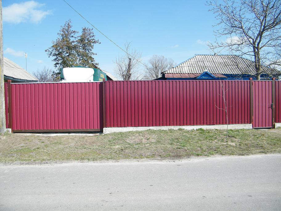 Ворота металлические под заказ