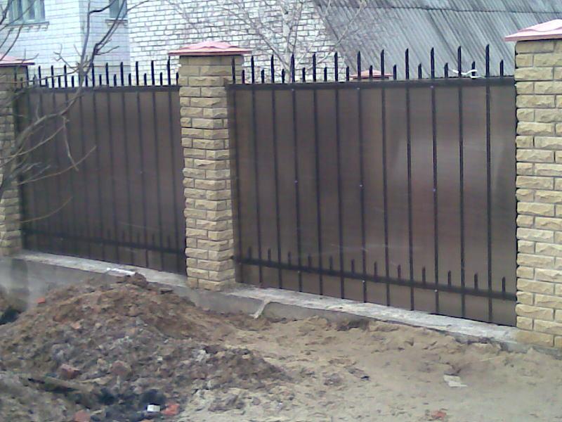 Кованный забор Киев