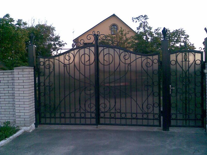 Металлический забор под заказ