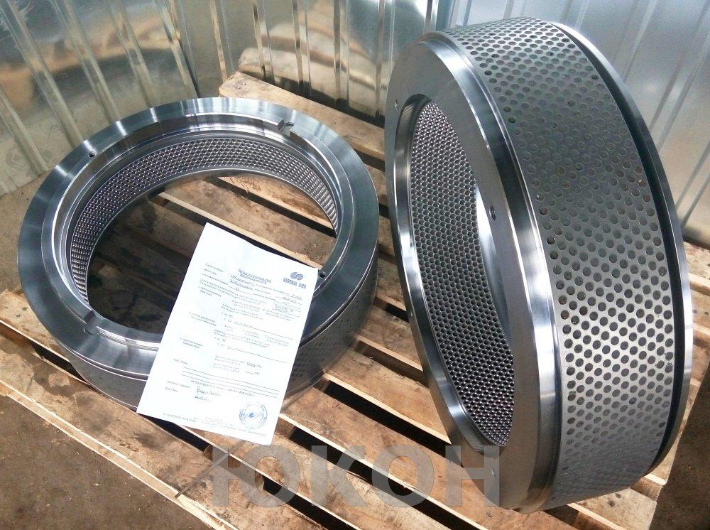 Composants pour machines de granulation