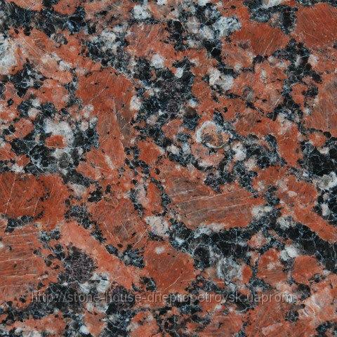 Капустинский гранит , Красный гранит Капустинского месторождения  0006