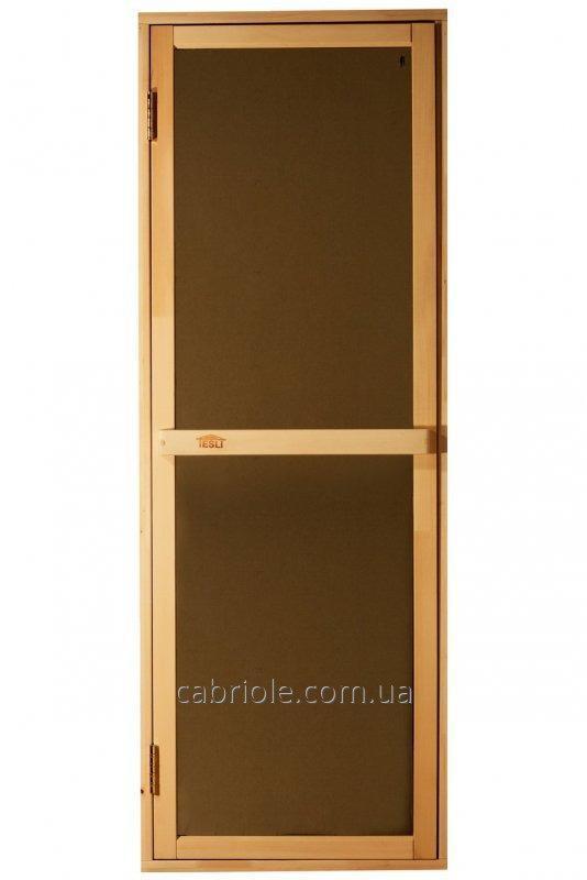 "Дверь для парилки "" Bravo-Sateen"" не прозрачное стекло, 1900х700"