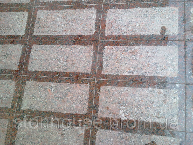 Гранит мрамор Каменный пол в доме 20 мм