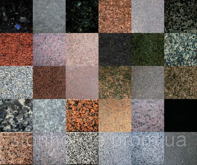 Гранитные плиты 600x600x20 полированные  2204