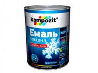 Эмаль алкидная ПФ-115 Kompozit® снежно-белая