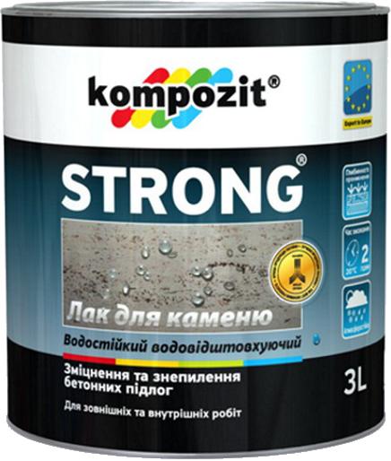 Грунтовка/лак по камню STRONG®