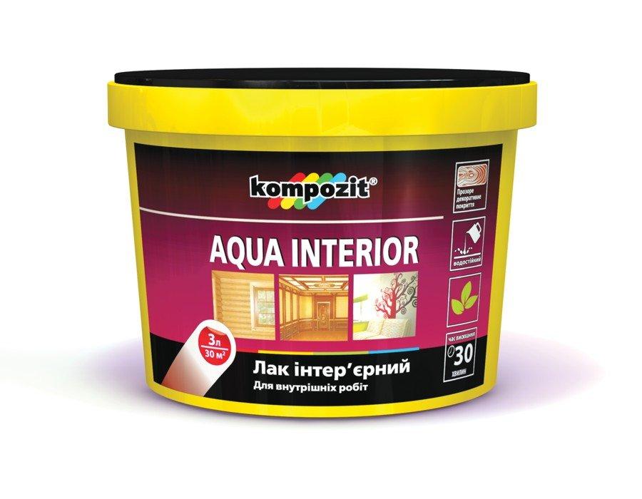 Лак интерьерный AQUA INTERIOR на акрилатной основе