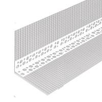 Кут пластиковий перф. з сіткою 3 м 7+7