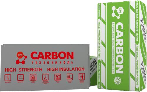 Пiнополiстирол екструзiйний CARBON ECO С/2 1180*580*50-L 8плит(5,48м.кв)