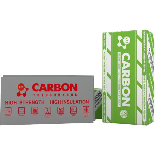 Плити пiнополiстирольнi екструзiйнi CARBON ECO 1200х600х20 (0,288)