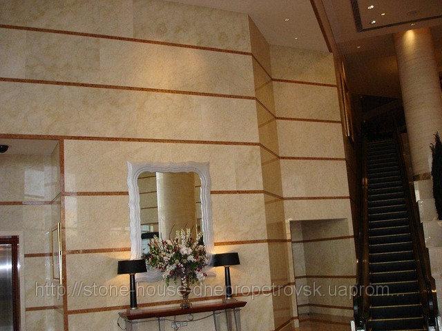 Мрамор, облицовка стен и фасадов мрамором 009