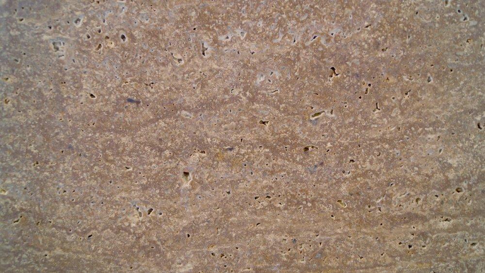 Травертин NOCE TRAVERTINE CC коричневый заполненный  шлифованный  0403
