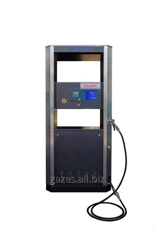 Газозаправочная колонка ГРК Gaslin с поршневым расходомером  двухпистолетная газораздаточная однопистолетная АЗС АГЗС