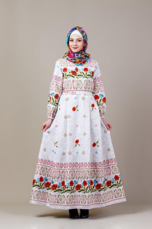 Платье Маки в этническом стиле