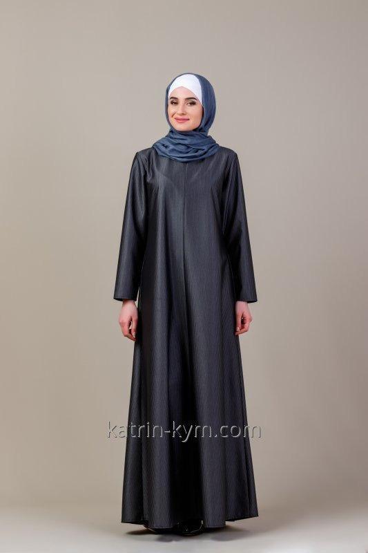 Платье-абая свободного кроя