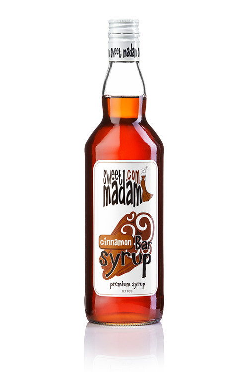 Bar syrup Cinnamon of 0,7 l. TM Sweet Madam