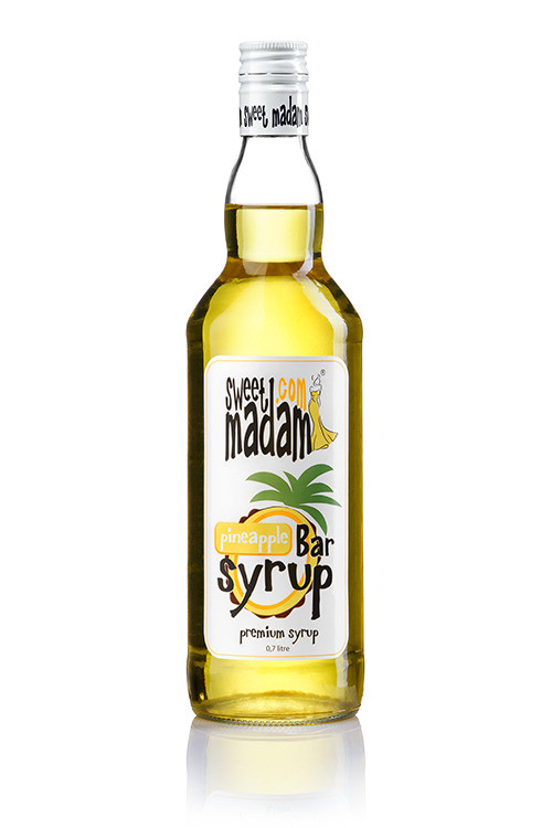 Bar syrup Pineapple of 0,7 l. TM Sweet Madam